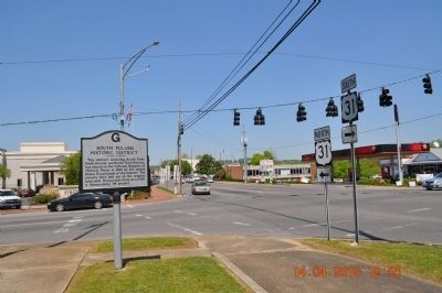 South Pulaski Historic District Marker image. Click for full size.