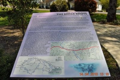 The Benge Route Marker image. Click for full size.
