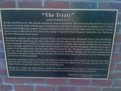 """The Treaty"" Marker image. Click for full size."