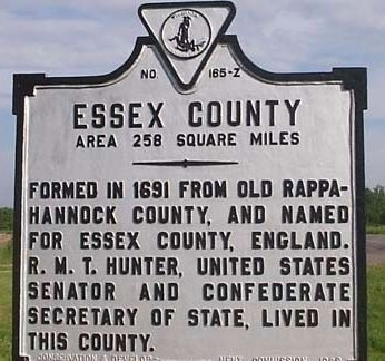 Essex County Marker image. Click for full size.
