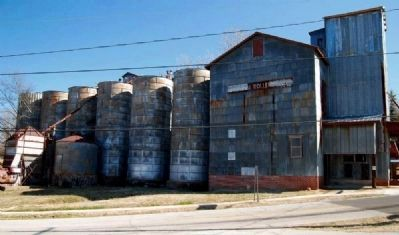 Central Roller Mills Silos image. Click for full size.