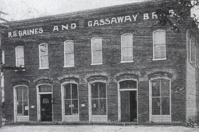 Gaines and Gassaway Store image. Click for full size.