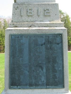 Barkhamsted Soldiers Memorial image. Click for full size.