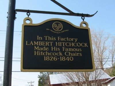 Lambert Hitchcock Marker image. Click for full size.