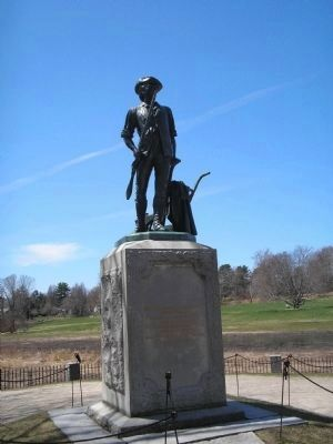 Minute Man of 1775 Statue in Concord image. Click for full size.