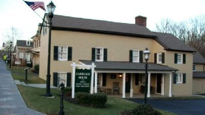 Brooks House and Marker image. Click for full size.
