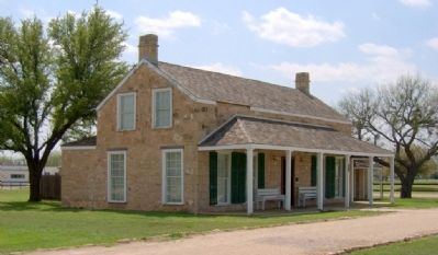 Gen. Grierson's house at Fort Concho image. Click for full size.