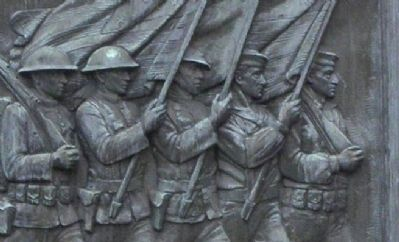 Northborough World War I Memorial Detail image. Click for full size.