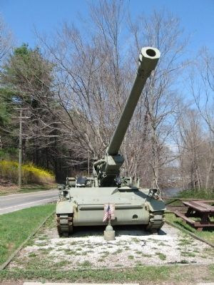 M110A2 Howitzer S/P image. Click for full size.