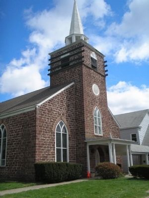 Pascack Reformed Church image. Click for full size.