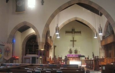 Nave of the Episcopal Cathedral Church of St. Stephen image. Click for full size.