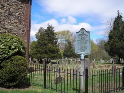 Marker on E Saddle River Road image. Click for full size.