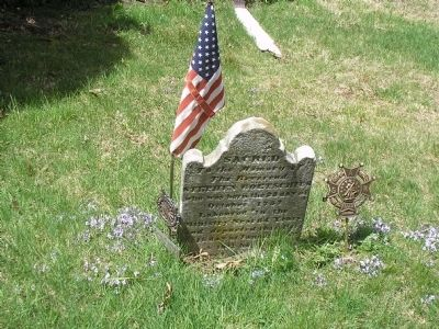 Revolutionary War Veteran Grave image. Click for full size.