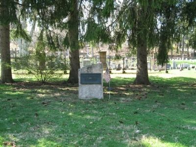 Winsted Old Burying Ground Marker image. Click for full size.