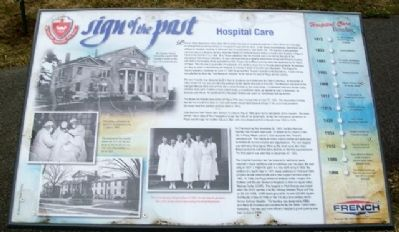 Hospital Care Marker image. Click for full size.
