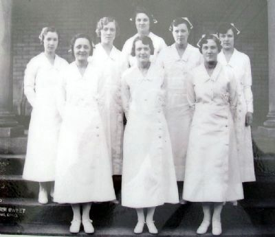 Nurse Photo on Hospital Care Marker image. Click for full size.