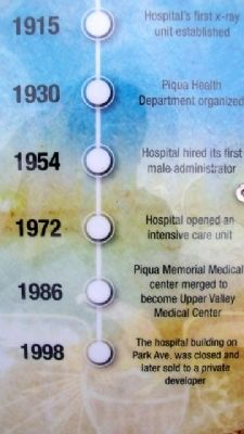 Hospital Care Marker Timeline image. Click for full size.
