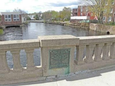 First Bridge over Pawcatuck River image. Click for full size.