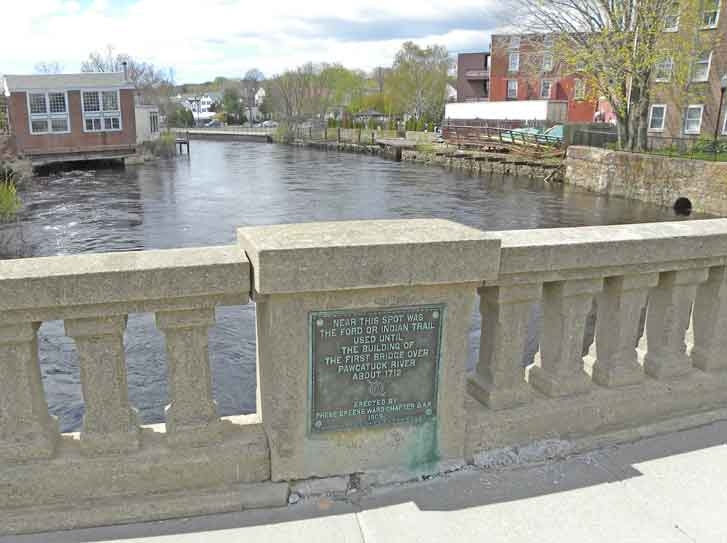 First Bridge over Pawcatuck River