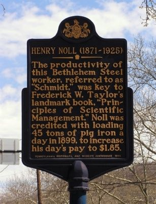 Henry Noll Marker image. Click for full size.