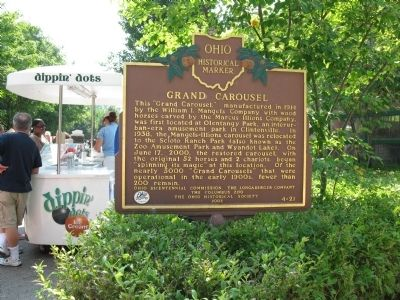 Grand Carousel Marker image. Click for full size.