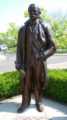 Oliver S. Kelly Statue image. Click for full size.
