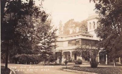 The Old Bidwell Home - Chico, Calif. image. Click for full size.