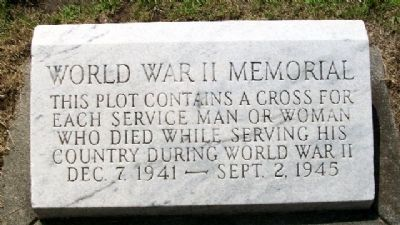 Middletown World War II Memorial Marker image. Click for full size.