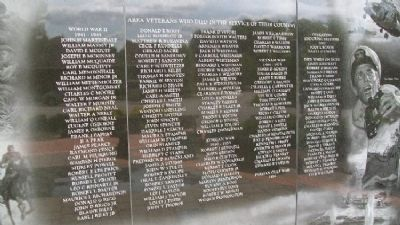 Middletown Veterans Memorial Honor Roll image. Click for full size.