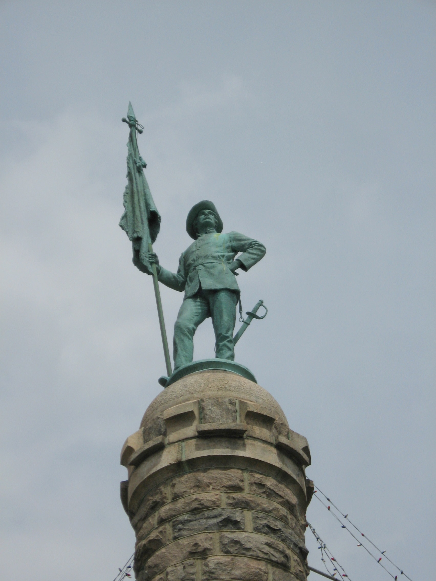 Statue at the Top