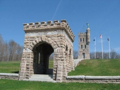Entrance Arch to the Monument image. Click for full size.