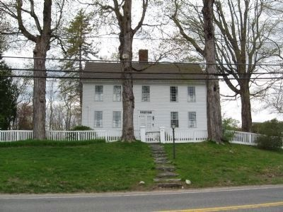 Samuel Rockwell House - 1767 image. Click for full size.