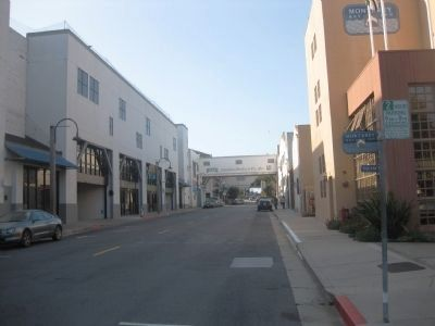 Cannery Row Today - looking northwest image. Click for full size.