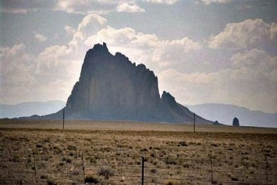 Shiprock image. Click for full size.