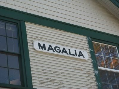 Magalia Depot image. Click for full size.