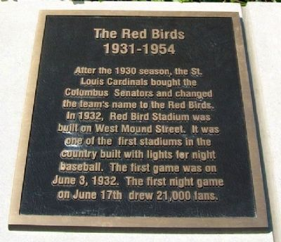 The Red Birds Marker image. Click for full size.