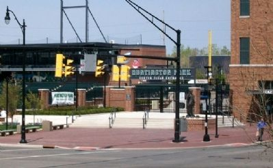 Huntington Park Center Field Entrance image. Click for full size.