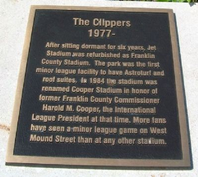 The Clippers Marker image. Click for full size.