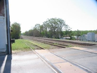 Rail Line at Appomattox Station image. Click for full size.