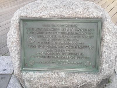 Brookland Ferry Landing Marker image. Click for full size.