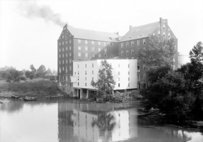 Dunlop Mills, South Richmond, Chesterfield County, VA image. Click for full size.