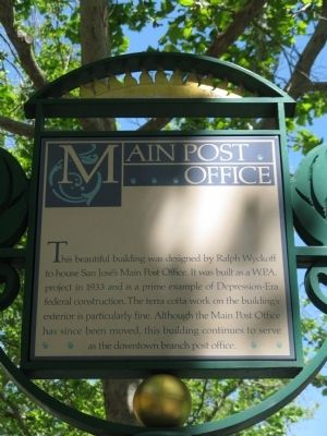 Main Post Office Marker image. Click for full size.