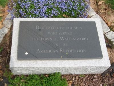 Wallingford Revolutionary War Memorial image. Click for full size.