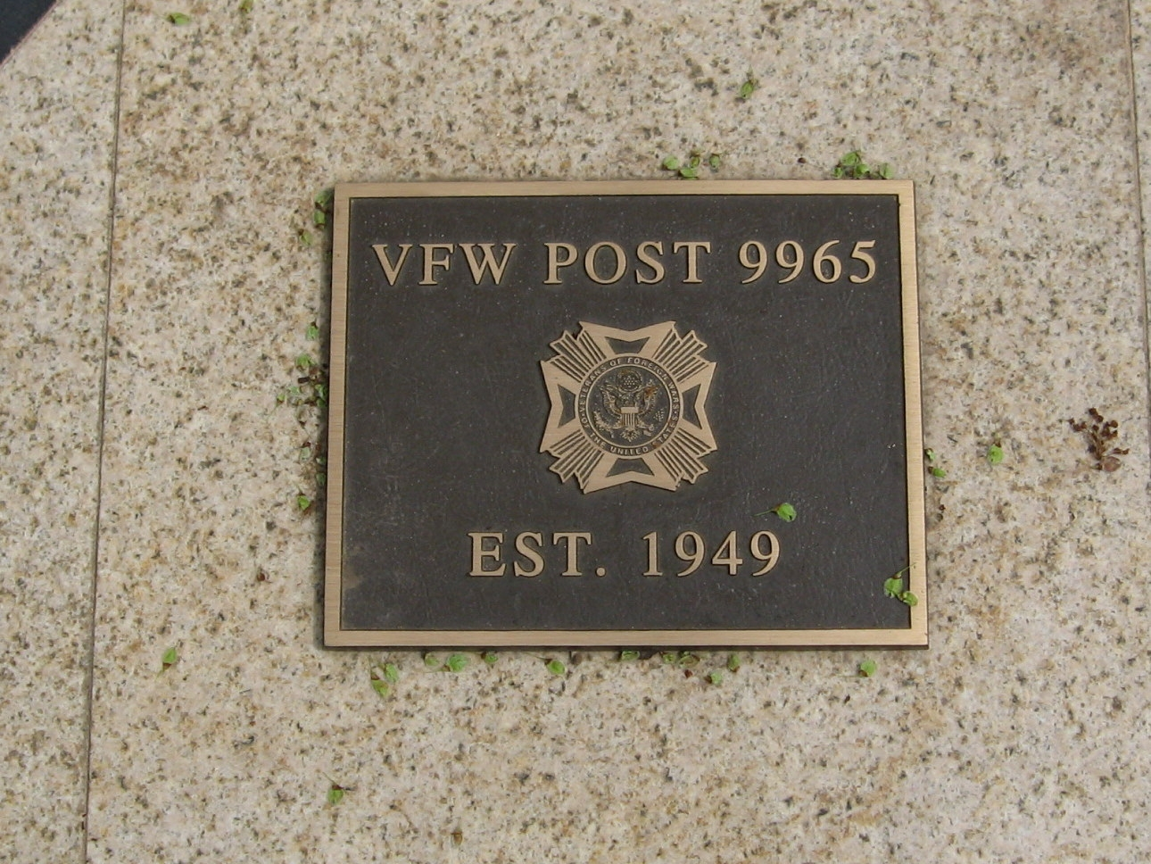 Plaque on the Memorial