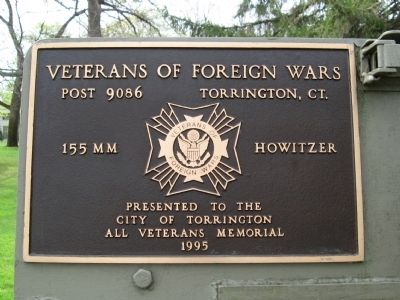 VFW 155mm Howitzer Marker image. Click for full size.