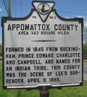 Appomattox County Side image. Click for full size.