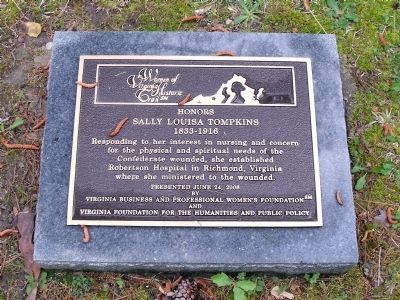 Women of Virginia Historic Trail plaque image. Click for full size.