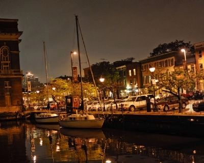 Fells Point at night image. Click for full size.