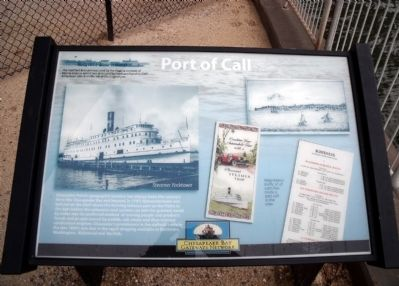 Port of Call Marker image. Click for full size.