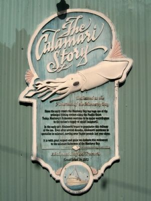 The Calamari Story Marker image. Click for full size.